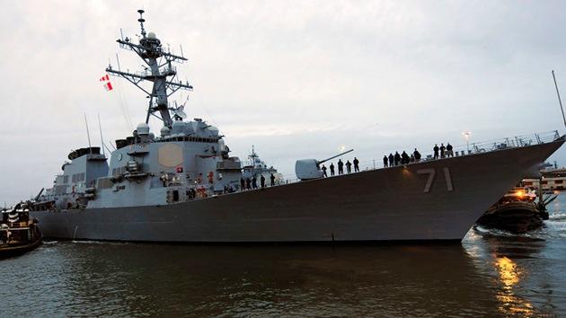 El segundo buque de defensa antimisiles de EE.UU. llega a la base española de Rota