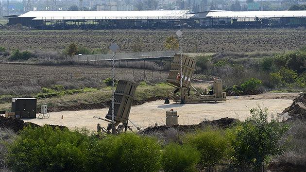 Israel amplía la cobertura de su 'cúpula de hierro'