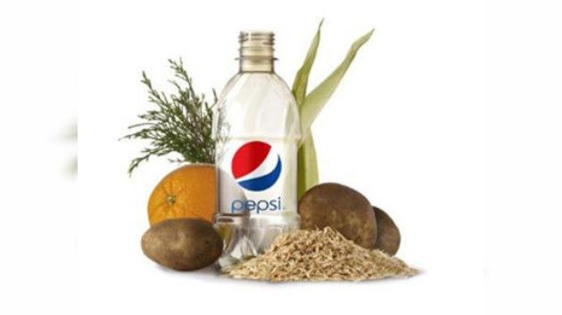 Pepsi presenta la primera botella hecha con materiales vegetales