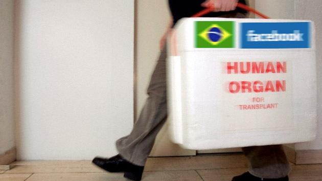 Brasil y Facebook se asocian para fomentar la donación de órganos