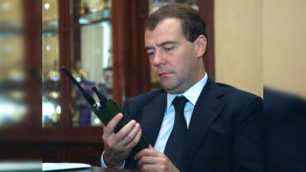 """Medvédev: """"El Ejército ruso pasará a las tecnologías digitales en 2012"""""""
