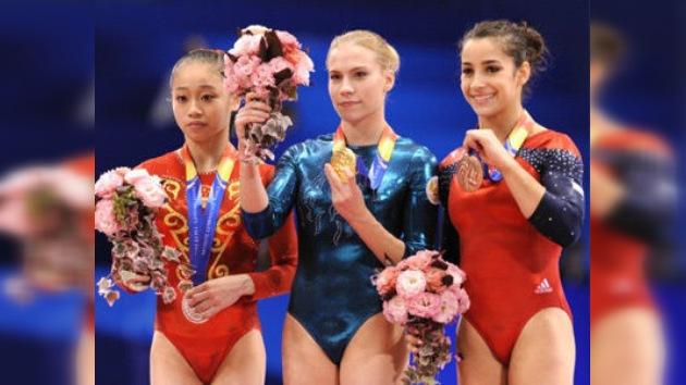 Rusia conquista el oro y la plata en el Mundial de Gimnasia Artística