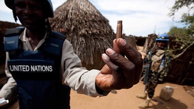 Un agente de la fuerza internacional de la ONU mata a tres compañeros en Sudán
