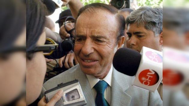 """Ex presidente argentino, a juicio oral  por """"encubrir"""" atentado a mutual judía"""