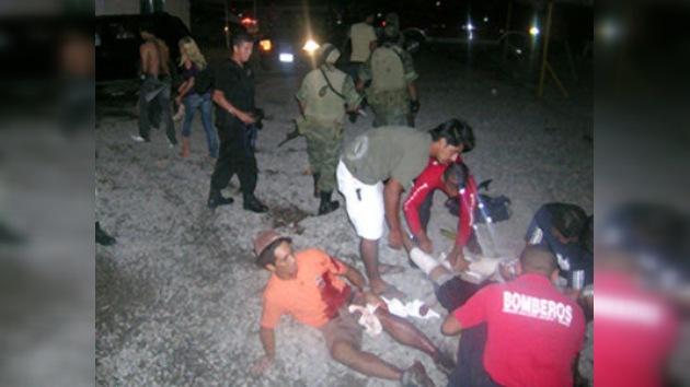 Una explosión de granada deja al menos 15 heridos en un bar mexicano