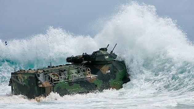 China envía un barco espía para vigilar de cerca las maniobras encabezadas por EE.UU.