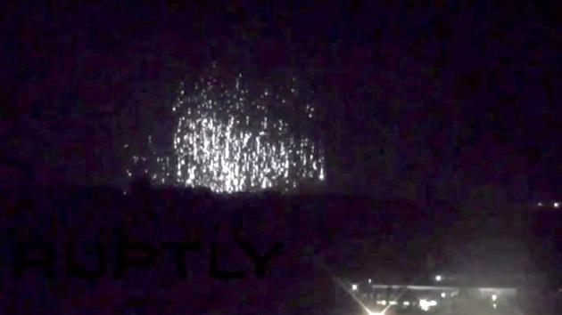 VIDEO: Denuncian que el Ejército ucraniano bombardea Donetsk con fósforo blanco