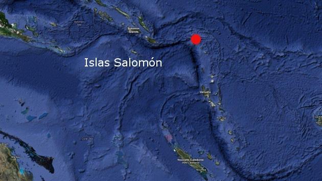 Segundo sismo del día: Terremoto de 7,0 grados hace temblar a las islas Salomón