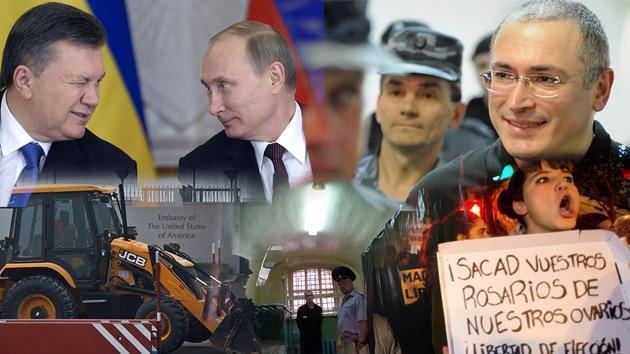Balance semanal: Amnistía a presos e indulto a Jodorkovski en Rusia, acuerdo económico entre Moscú y Kiev