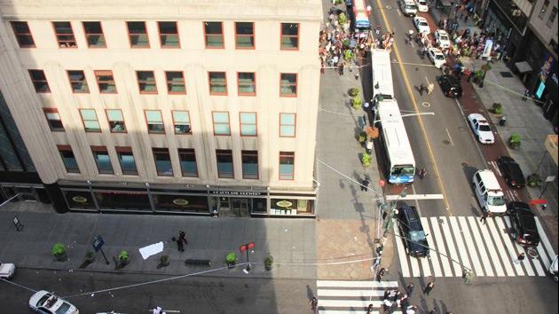 Tiroteo en el centro de Nueva York: varias personas heridas