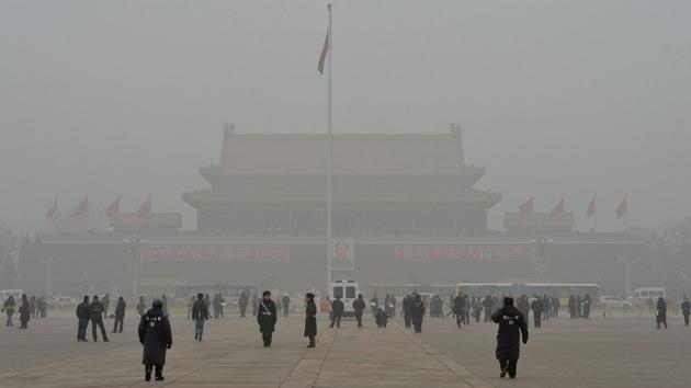 """Medios chinos: """"La contaminación del aire tiene sorprendentes beneficios para el país"""""""