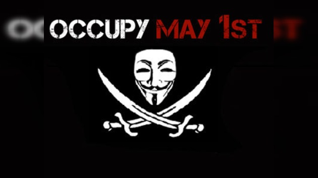 Anonymous y Ocupa Wall Street, juntos a la huelga global del 1 de mayo
