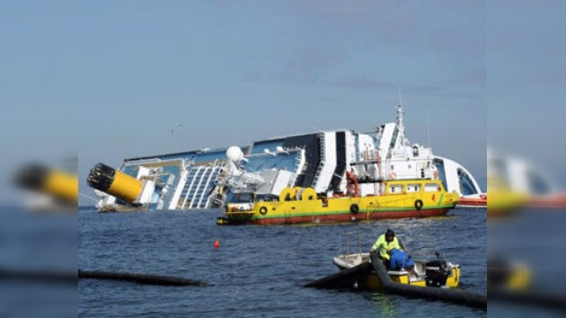 Demandan indemnización a propietarios del 'Costa Concordia' por 460 millones de dólares