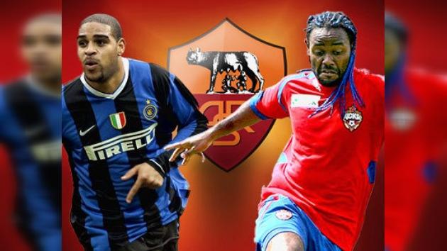 Vágner Love y Adriano, cada vez más cerca del AS Roma