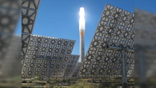Inauguran planta que genera energía solar aun de noche