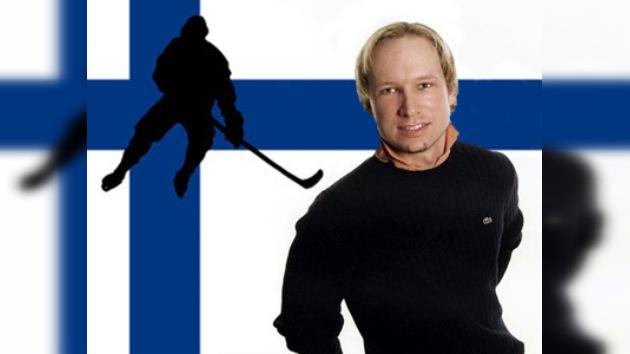Incluyen al terrorista Breivik en la selección finlandesa de hockey