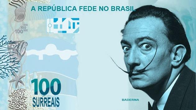 Residentes de Río de Janeiro luchan contra la inflación con el '$urreal', una moneda falsa
