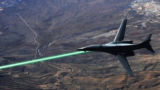 EE.UU. armará a sus aviones de combate con rayos láser