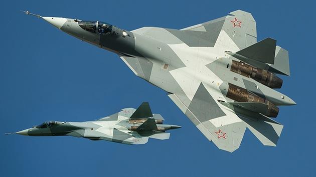 Las armas para el caza furtivo ruso T-50 están listas para las pruebas