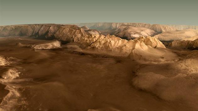 Primeras imágenes de Marte en 3D: Publican video del planeta hecho por la cámara estéreo