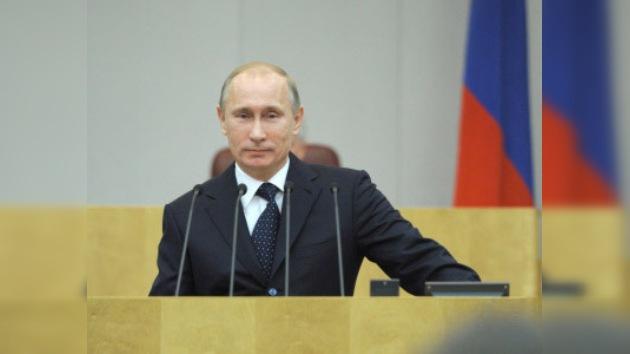 """Vladimir Putin: """"La oposición no debe zarandear el bote"""""""