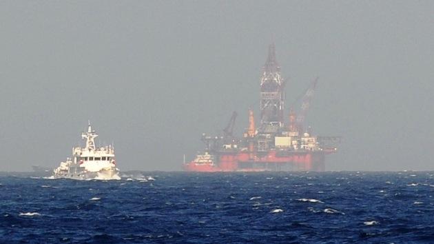 Descubierto un enorme campo de gas en aguas profundas del mar de China Meridional