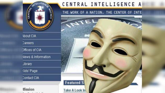Anonymous, de nuevo 'a la caza' de la CIA
