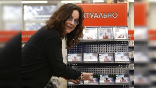 Ozzy Osbourne no beberá vodka en Rusia por imposición matrimonial