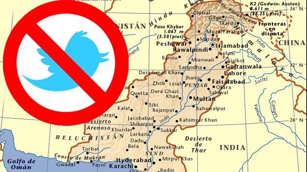 Pakistán bloquea Twitter