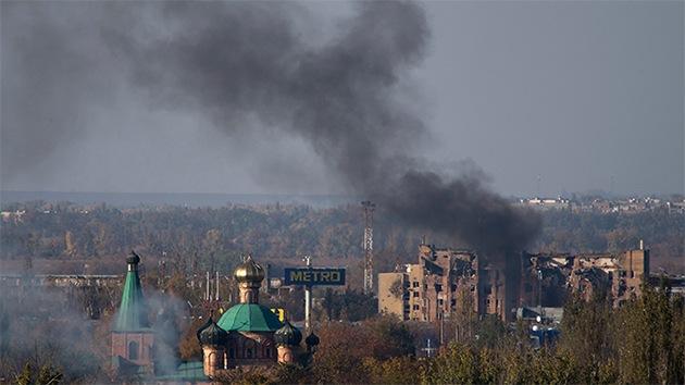 Vídeo exclusivo de RT de las ruinas del aeropuerto de Donetsk