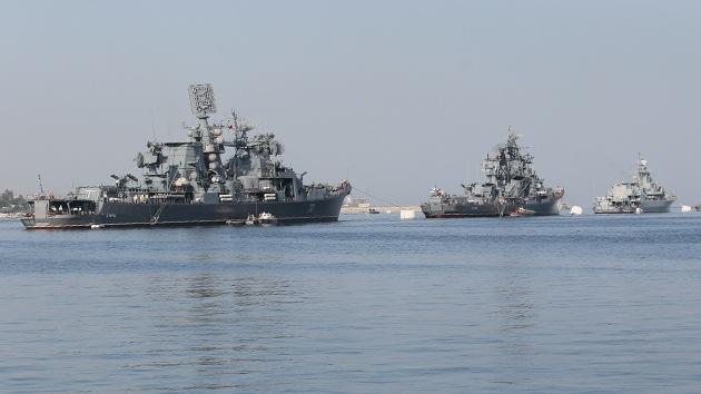 Buques rusos, listos para zarpar en defensa de intereses nacionales en Siria