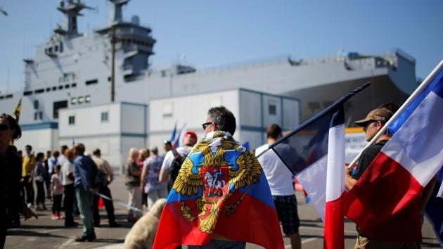 """Viceprimer ministro: """"Rusia puede prescindir de los portaaviones Mistral"""""""