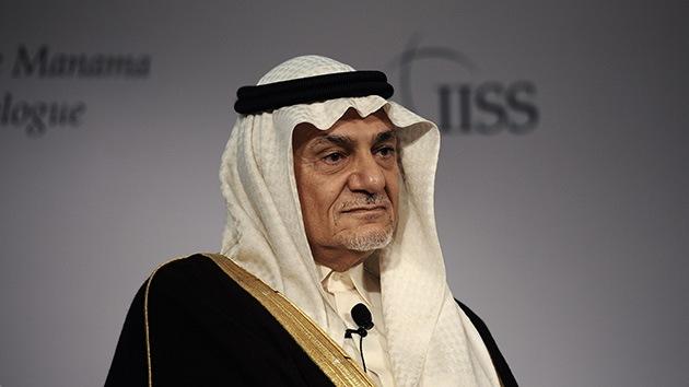 """Príncipe saudita: la política de EE.UU. """"carece de credibilidad"""""""