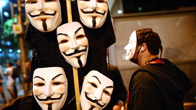 Anonymous promete un 'hackathon' contra páginas gubernamentales el 5 de noviembre