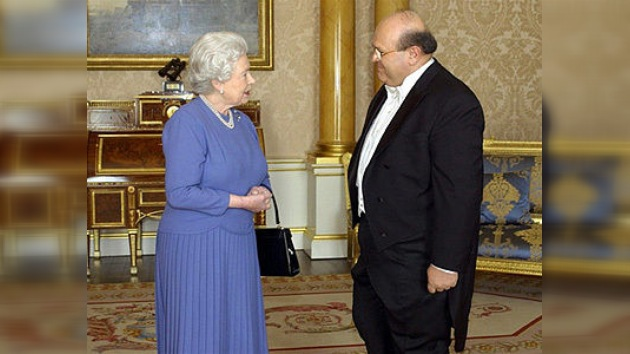Londres ha retirado al embajador de Siria la invitación a la boda real