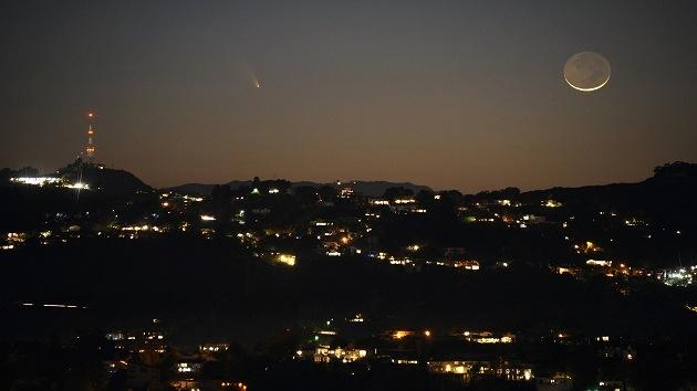 Nuevo cometa espectacular se está acercando a la Tierra