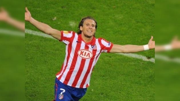 Forlán se despide del Atlético de Madrid y se pone a tiro del Inter