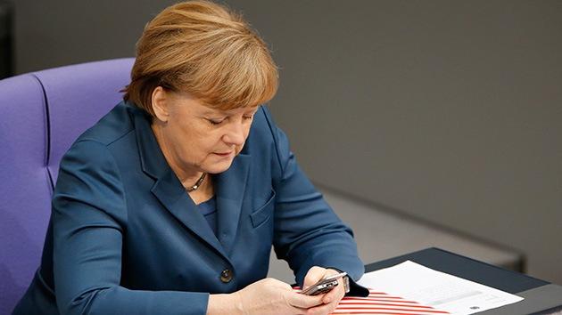 La Fiscalía alemana investigará las escuchas del móvil de Merkel por parte de la NSA