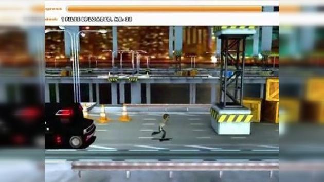 Huye del FBI y descarga archivos mientras puedas: crean juego parodia del caso Megaupload