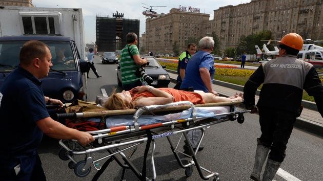 """Testigo del accidente de tren en Moscú: """"Lo que pasa ahora en el metro es un infierno"""""""