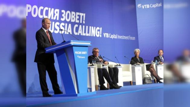 Las inversiones extranjeras en Rusia llegan a 25.000 millones de dólares
