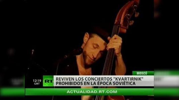 Kvartirniks que dan fama a los músicos clandestinos