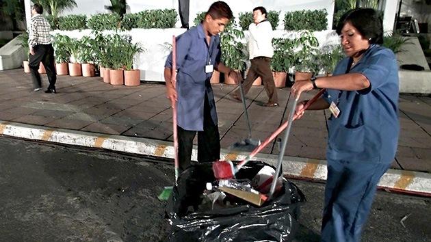 La cumbre verde Río+20 deja más basura que resultados: +60 toneladas de desechos