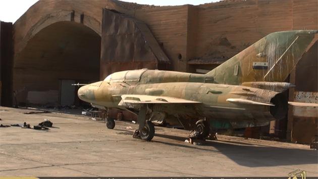 Yihad aérea: el Estado Islámico entrena a sus pilotos con aviones del Ejército sirio