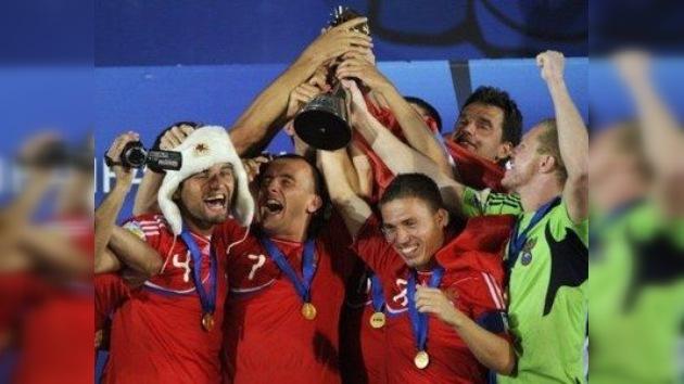 Rusia se proclama campeón mundial de fútbol playa de 2011