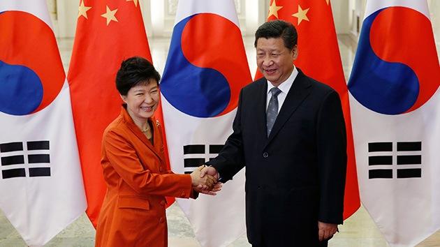 China y Corea del Sur acuerdan firmar el tratado de comercio libre en enero de 2015