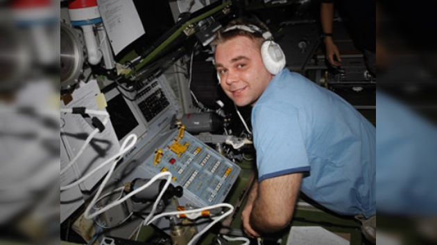 Los astronautas reciben una cálida bienvenida en la Ciudad de las Estrellas
