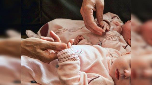 Cuatrillizos rusos en un 'limbo' legal por nacer de padre muerto