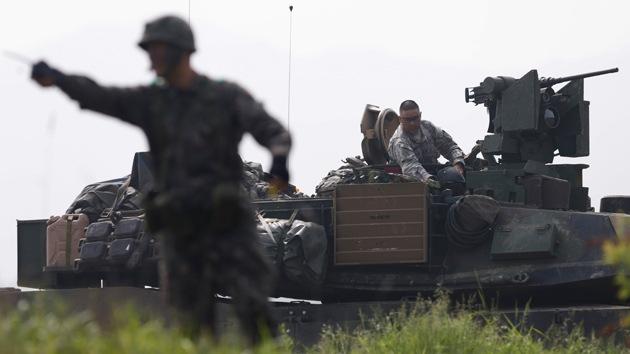 Intercambio de disparos en la frontera entre las dos Coreas
