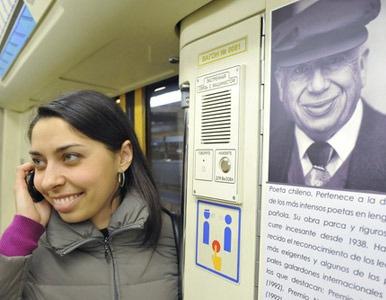 Los sorprendentes trenes conmemorativos del metro de Moscú